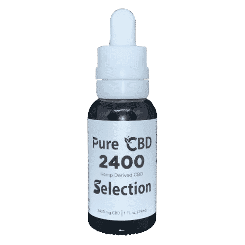 2400mg pure cbd oil