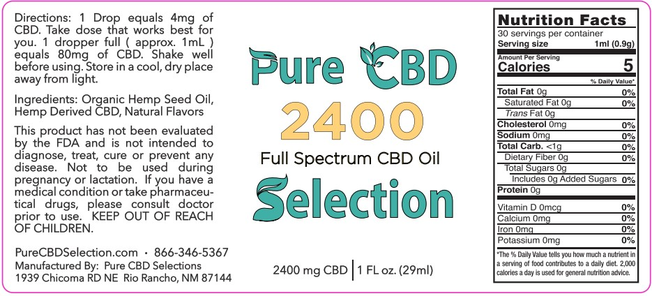 2400MG CBD Full Spectrum 2