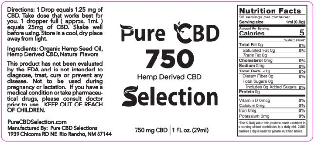 750MG CBD Full Spectrum 3