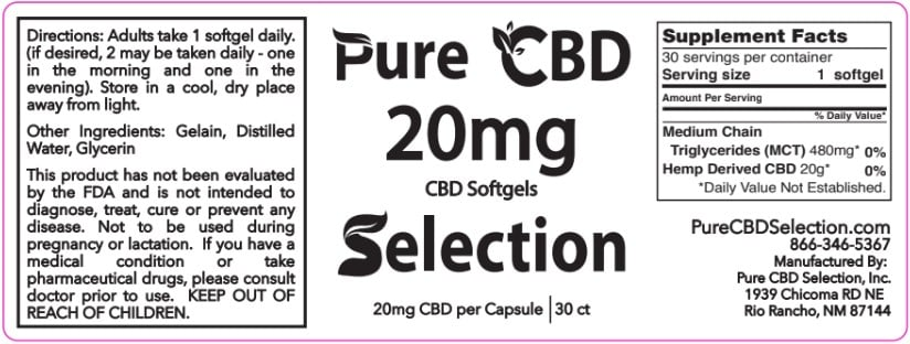 Full Spectrum CBD Soft Gel Capsules 2
