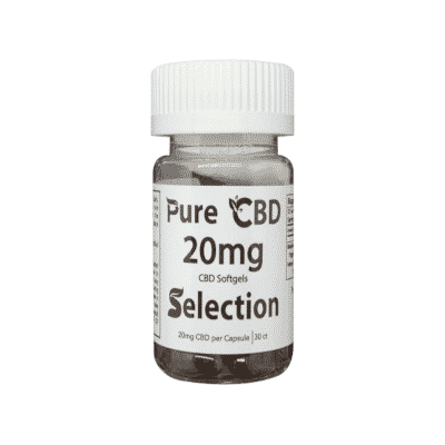 Full Spectrum CBD Soft Gel Capsules 1