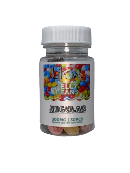 10mg CBD Assorted Flavor Infused Jelly Beans By Lik3ve (likove) 1