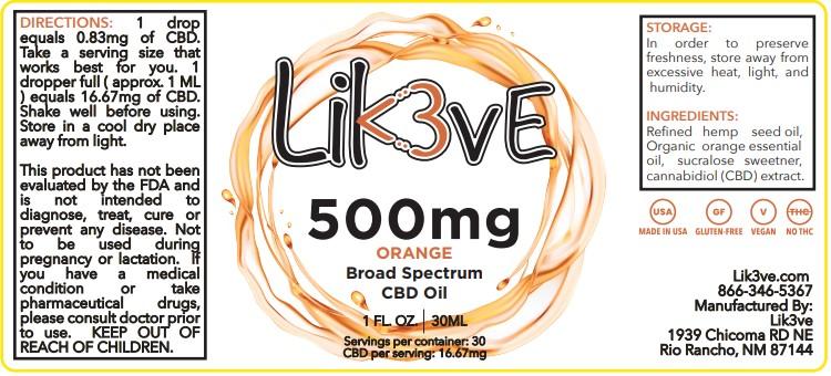 500mg thc cbd oil